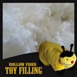 TTO 100% Hollowfibre Stuffing Filling For Toys & Cushions Premium Grade UK Made (100 Grams)