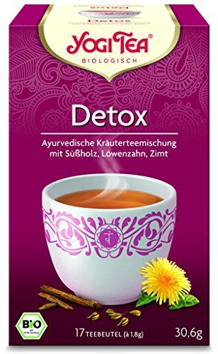 Yogi Tee BIO Detox Tee, 17 Btl.à 1,8g vormals: Kleiner Kur Tee (frachtfreie Lieferung (BRD) ab € 15,00) (1)