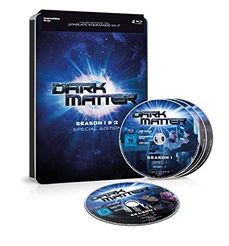 Dark Matter - Season 1+2 - Limited Steel Edition [Blu-ray] -