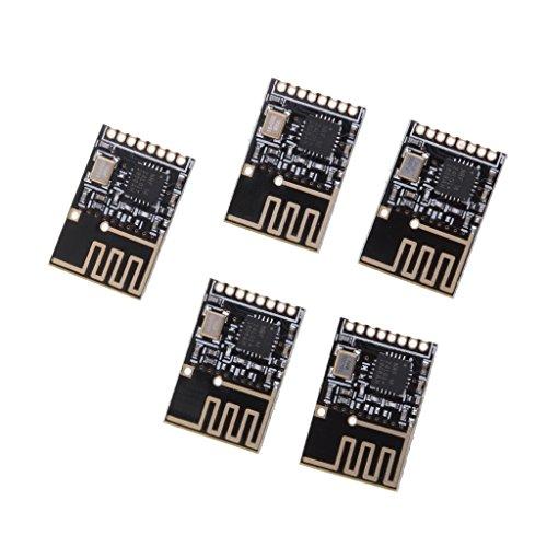 Baoblaze 5 Stück NRF24L01 Serial Wifi Wireless RF Transceiver Module für Maus, Tastatur, kabellose Headsets -