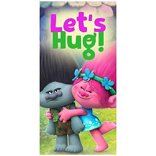Disney–Trolls Let 's Hug toalla de playa, 140x 70cm