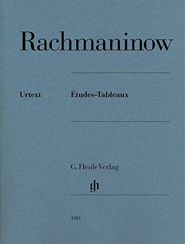 Etudes-Tableaux (Urtext) --- Piano par Rachmaninoff Sergueï