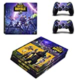 THTB Playstation 4 Pro + 2 Controller Design Sticker Protector Set - Fortnite (1)/PS4 P