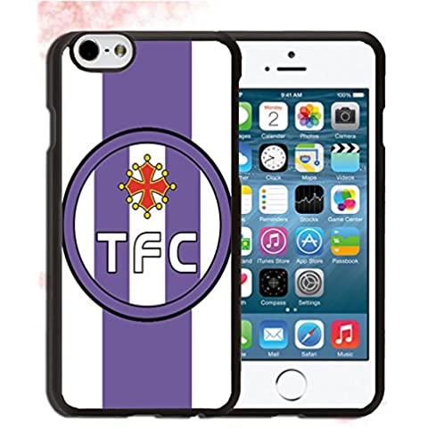 Cover iPhone 6 (4.7 pollici) Custodia, Toulouse FC Custodia Copertura per iPhone 6s (4.7 pollici), Calcio Giocatori Mela Logo - Toulouse Custodia Case / Uomo Elegante Sportiva & iPhone 6 & iPhone 6s Tumblr Cover
