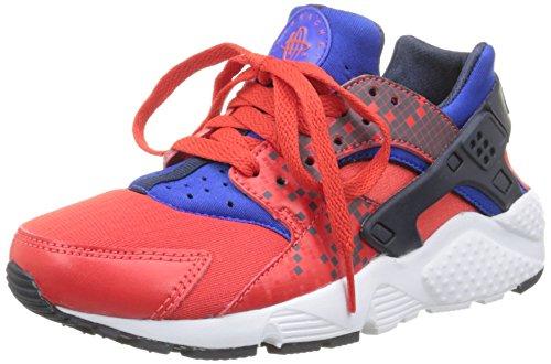 Nike - Huarache Run, Sneaker Unisex – Bambini Arancione / Nero / Bianco (Lt Crimson / Obsidian-Rcr Bl-Wht)