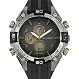 All Blacks - 680164 - Montre Homme - Quartz Analogique - Digital - Cadran Noir - Bracelet Plastique Noir