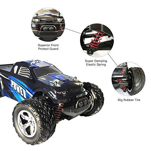 RC Auto kaufen Monstertruck Bild 2: HomeXin RC Cars Rock Offroad Racing Fahrzeug Crawler Truck 2,4 Ghz 4WD High Speed 1:20 Radio Fernbedienung Buggy Elektro Fast Race Hobby- Blau*