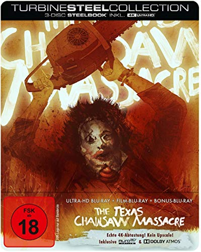 The Texas Chainsaw Massacre - Limited Steelbook Edition (4K Ultra HD) (+2 Blu-Rays)