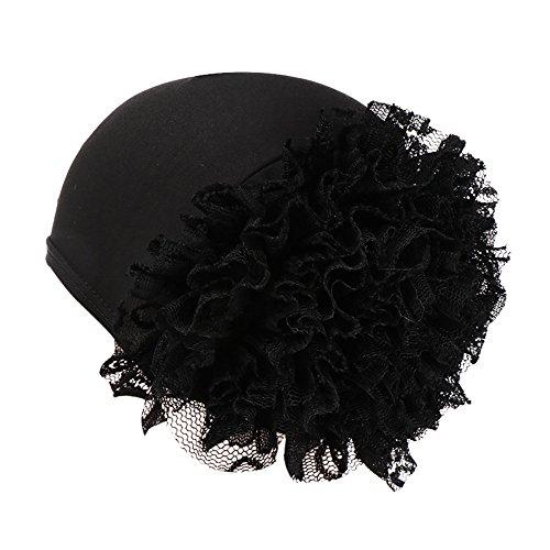 Kobay cappellino avvolgente per donna con motivo floreale in india