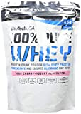 100% Pure Whey Iogurt Ciliegia Acida 454 g sacca - proteina di siero di latte pura - BiotechUSA
