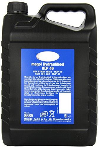 Unbekannt Meguin 8685 Megol Hydrauliköl HLP 46, 5 L