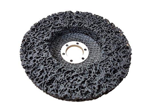 rostio CSD Disque–Disque de nettoyage Noir 125x 13x 22,2mm haute qualité pour Flex–Meuleuse d'angle