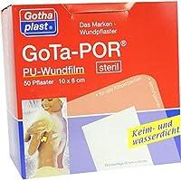 GOTA-POR PU Wundfilm 10x6 cm steril Pflaster 50 St preisvergleich bei billige-tabletten.eu