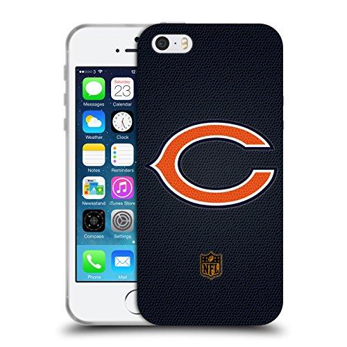 Head Case Designs Offizielle NFL Fussball Chicago Bears Logo Soft Gel Hülle für Apple iPhone 5 / 5s / SE