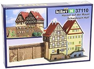 Kibri - Edificio para modelismo ferroviario N Escala 1:160 (37110)