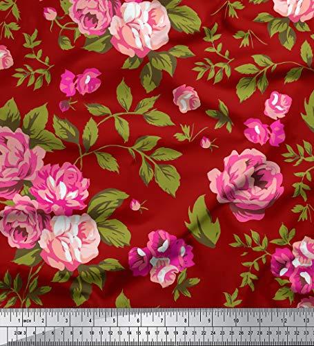 Soimoi Rose mit Blumenmuster 60