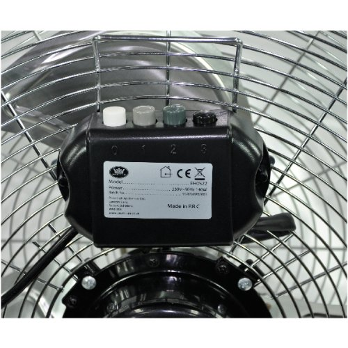 18 Inch (45 Cm) High Velocity Air Circulator With Chrome Finish