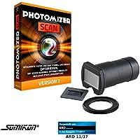 Somikon Diascanner: DSLR-Objektiv-Aufsatz zum Digitalisieren von Dias/Negativen (Dias abfotografieren Aufsatz)