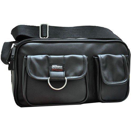 LAVAYA Black, Yellow Dslr Shoulder Camera Bag for Nikon