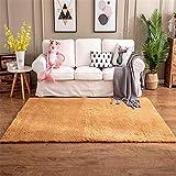 GUO-YANGH Schlafzimmer Teppich Lammfell Teppich Wohnzimmer Couchtisch Teppich Schlafzimmer mat-Grey_80 * 160CM