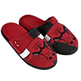 Forever Collectibles NBA Chicago Bulls Split Farbe Slide Slipper, klein, rot