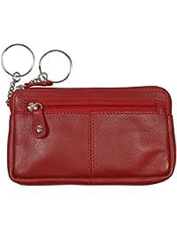 "Schlüsseletui, ""BIG KEY"", 105890 003, Damen und Herren Schlüsseletui, Leder, rot"
