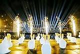 Sisthirth Macchina del Fuoco d'artificio di Scintilla Freddo Effetto di interni Stage e all'aperto Occasioni di nozze (nero)