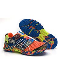 Hombre ACOLCHADO Gel Noosa TRI 8Trail carretera Running Sport Competencia de Carreras de zapatos calzado zapatillas en camuflaje naranja, hombre, Camouflage Orange, EUR43