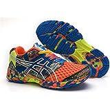 Hombre ACOLCHADO Gel Noosa TRI 8Trail carretera Running Sport Competencia de Carreras de zapatos calzado zapatillas en camuflaje naranja, hombre, Camouflage Orange, EUR42