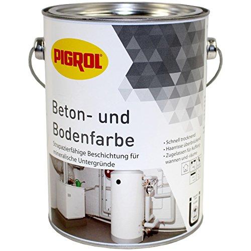 Beton- und Bodenfarbe 2,5l für alle mineralischen Untergründe (mausgrau)