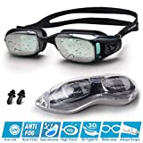 Snowledge Swimming Goggles Adult With No Leaking Swim Goggles for Men with Anti