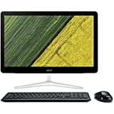 Acer Z24-880 IPS/LED All-in-One Desktop PC - (Silver/Black) (Intel i5 7400T 2.4 GHz, 8 GB RAM, 2 TB HDD, Windows 10)