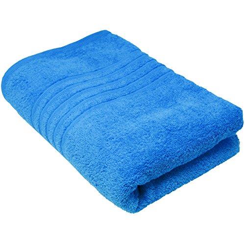 Lashuma Saunatuch Herren Blau - Capri | XL Handtuch für die Sauna & Strand | Liegestuhltuch Größe 220 x 85 cm (Handtuch Strand Große)