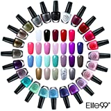 Elite99 Kit de 24pcs Esmalte de Uñas de 24 Colores Set 10ml Manicura y Pedicura - 03