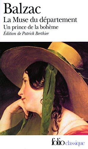 La Muse du département - Un prince de la bohème par Honoré de Balzac
