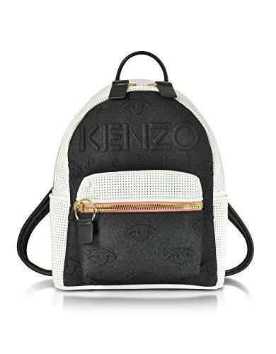 kenzo-womens-f752sa403f0999-white-black-canvas-backpack