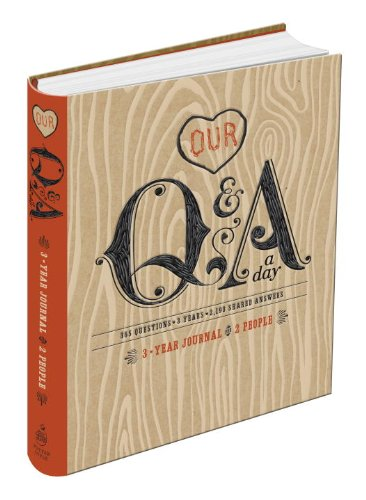 Our Q & a a Day: 3-year Journal for 2 People