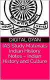 IAS Study Materials   Indian History Notes – Indian History and Culture