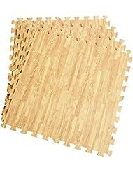 12 Stück Schutzmatten Set Bodenschutz Matte Bodenschutzmatte Puzzlematte Gymnastikmatte Unterlegmatte Bodenmatte