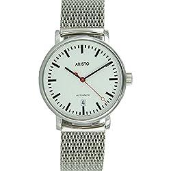 Aristo 4H148Mil Vollmer Men's Clock Stainless Steel