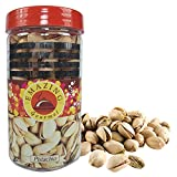 #6: Emazing Gourmet - Grade 1 - High Quality Pistachio - 200 Grams in a REUSABLE PET JAR - Combined with Handmade Rakhi