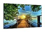 Bild auf Leinwand - Leinwandbilder - drei Teile - Breite: 165cm, Höhe: 110cm - Bildnummer 2573 - dreiteilig - mehrteilig - zum Aufhängen bereit - Bilder - Kunstdruck - CE165x110-2573