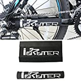 GDRAVEN Durable Cycling Chain Stay Chainstay Bike Bicycle Guard Cover Frame Black Protec