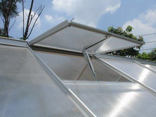Preisvergleich Produktbild fensteröffner gewächshaus Automatischer Fensteröffner Fensterheber für Gewächshäuser Gartenhaus Treibhaus Frühbeet Temperaturgesteuert mit 7 kg Hubkraft autom. Fensterheber