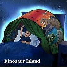 Tienda para cama Sueño Dream Tents Children Play Cama Tienda Fantasy House (Parque de Los Dinosaurios)