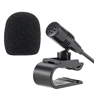 Lling(TM) Microphone externe 3,5mm pour voiture radio stéréo Bluetooth GPS DVD par Lling