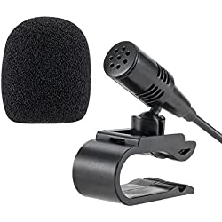 lling TM Asamblea 3,5mm Micrófono Externo Mic para coche vehículo Jefe Unidad Bluetooth Stereo Radio GPS DVD