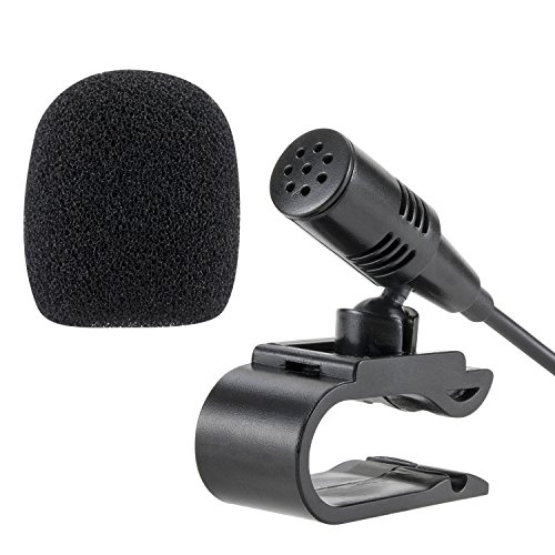 lling 3,5mm Externes Mikrofon Mikrofon für Auto Fahrzeug (TM) Head Unit Bluetooth-fähigen Stereo-Radio GPS DVD