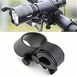 Swiftswan Bike Bicicletta LED Torcia laser Torcia montaggio morsetto Clip Grip Supporto per staffa