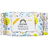 Amazon Brand - Mama Bear Premium Moisturizing Baby Wet Wipes - 72 usable wipes, With Lid
